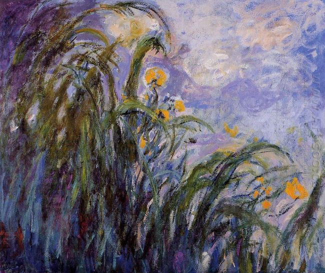 Yellow Irises 3 1917