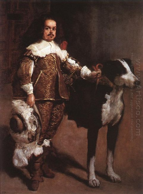 A Buffoon Incorrectly Called Antonio The Englishman 1640