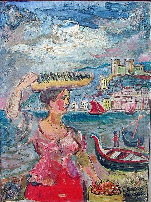 A Girl 1954
