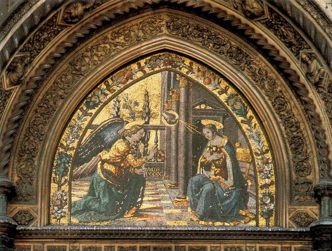 Annunciation Closeup 1490