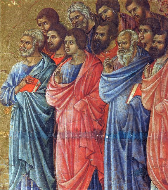 Appearance Of Christ To The Apostles Fragment 1311 4