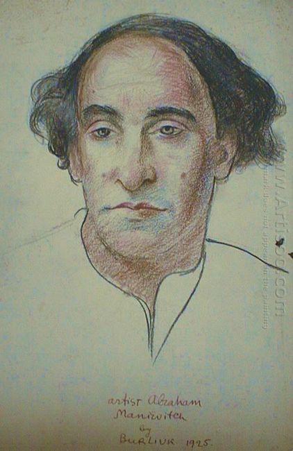 Artist Abraham Manievitch 1925