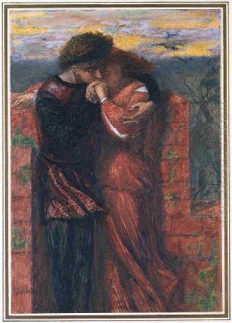 Carlisle Wall The Lovers 1853
