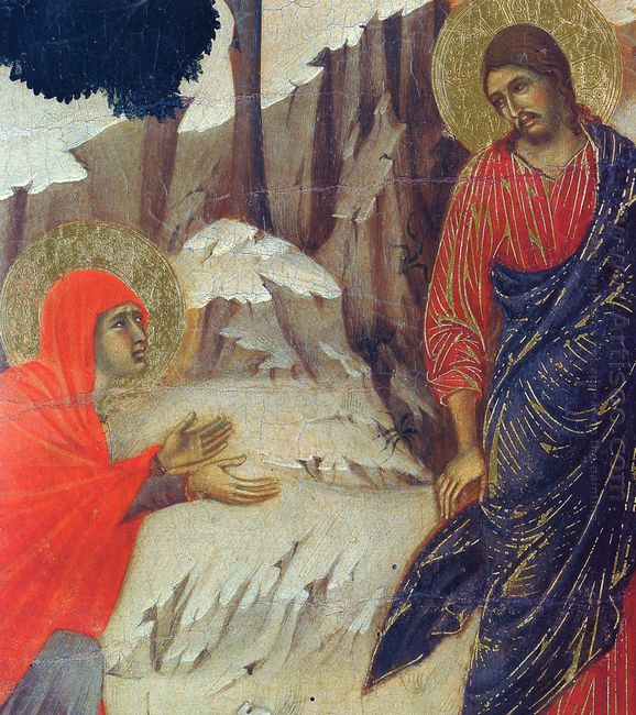 Christ Appearing To Mary Magdalene Fragment 1311