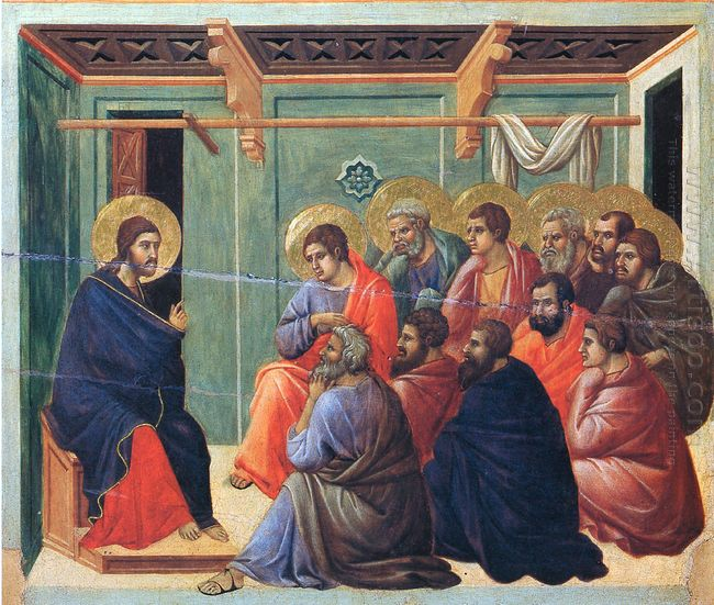 Christ Preaches The Apostles 1311