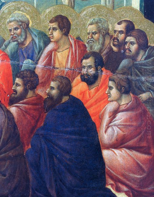 Christ Preaches The Apostles Fragment 1311