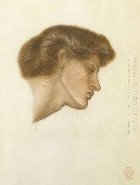 Dante S Dream At The Time Of The Death Of Beatrice Study 1870