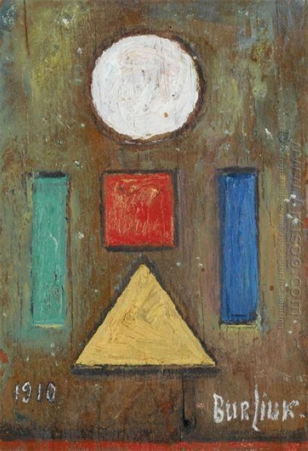 Dedication To Cezanne 1910