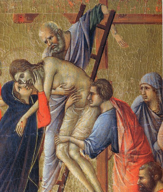Descent From The Cross Fragment 1311