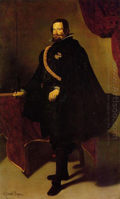 Don Gaspde Guzman Count Of Olivares And Duke Of San Lucla Mayor