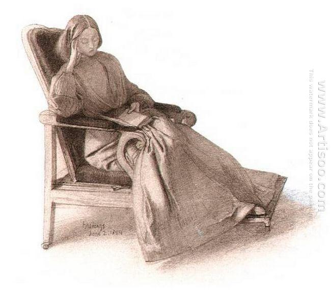 Elizabeth Siddal 1854