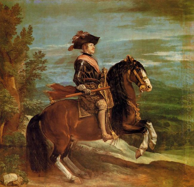 Equestrian Portrait Of Philip Iv 1635