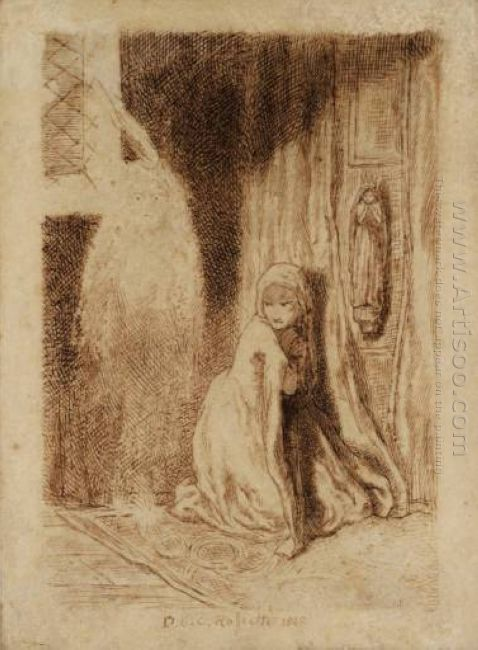 Faust Margaret In The Church 1848