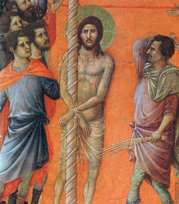 Flagellation Of Christ Fragment 1311