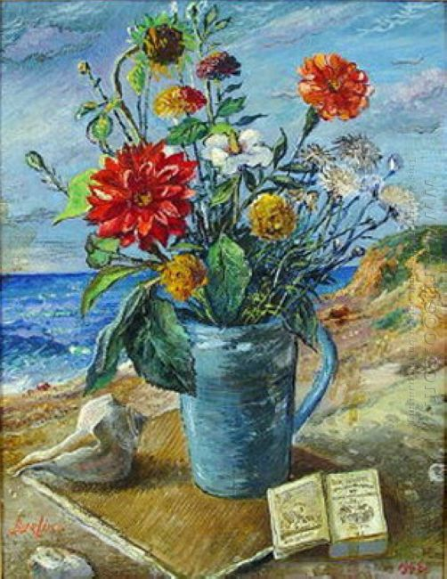 Flowers By The Sea 1