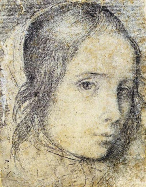 Head Of A Girl 1618