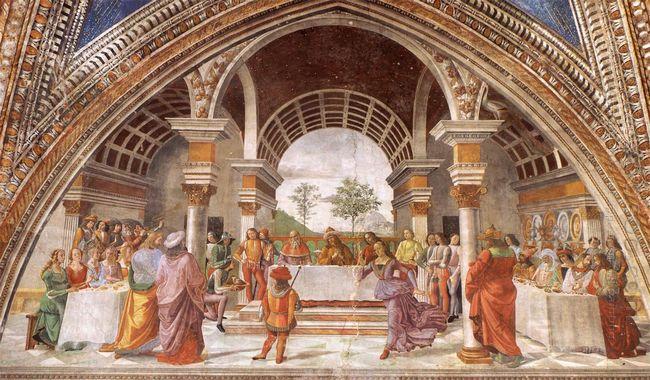 Herod S Banquet 1490