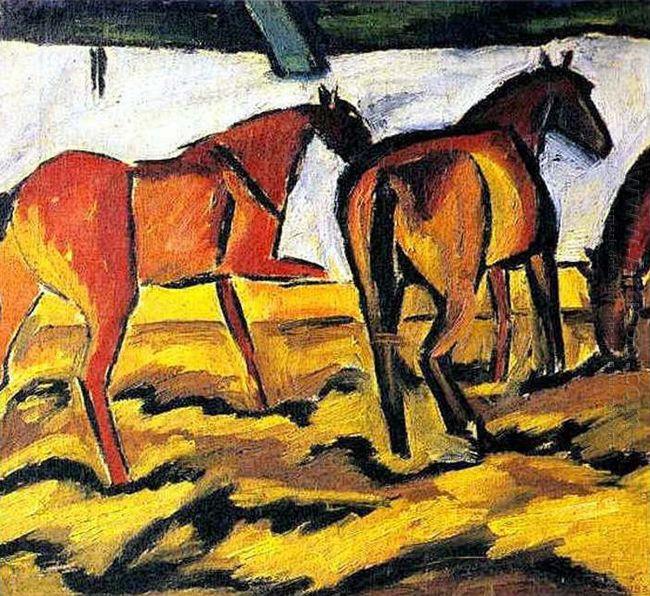 Horses 1908 1