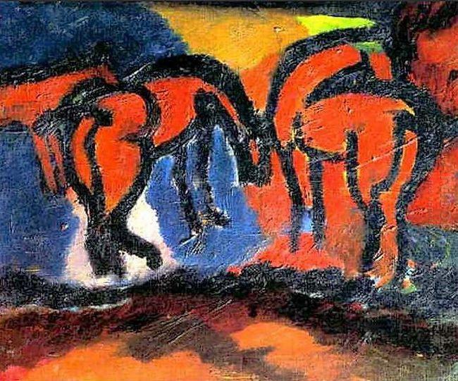 Horses 1908