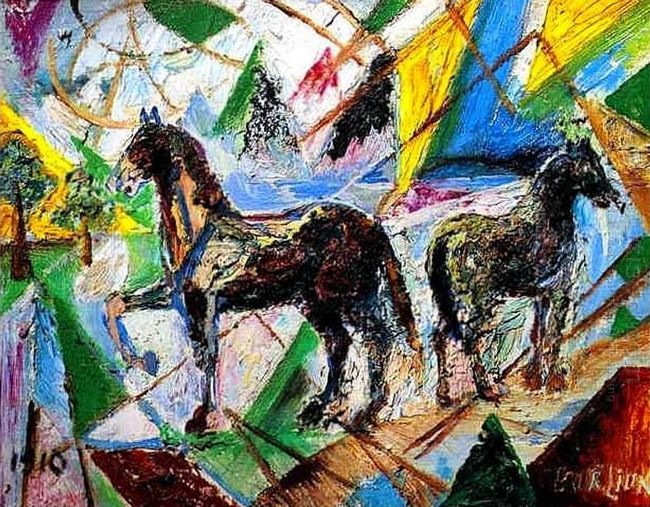 Horses 1910