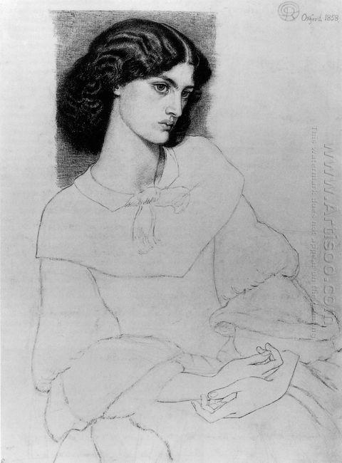 Jane Burden Aged 18 1858