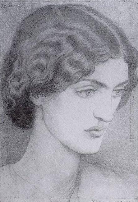 Jane Morris 1857