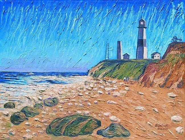 Lighthouse On The Coast 1958