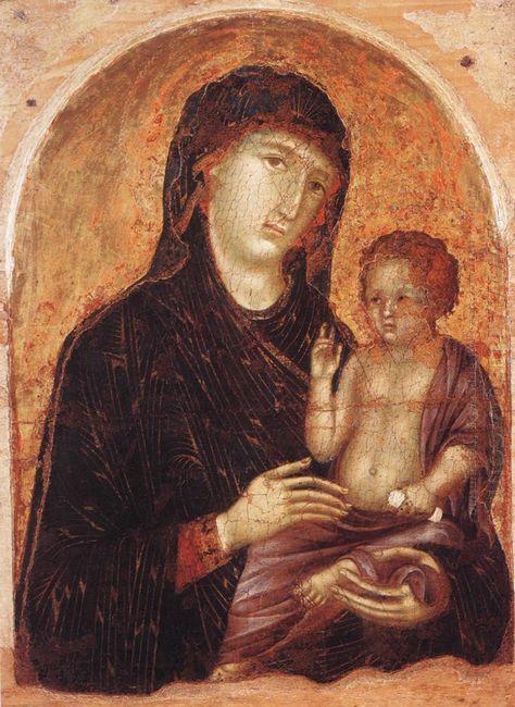 Madonna And Child 1305