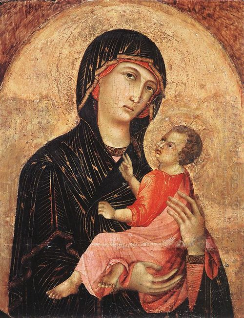 Madonna And Child No 593