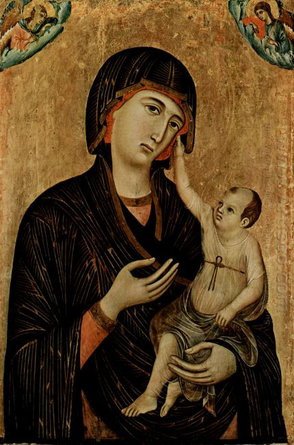 Madonna Of Crevole 1284