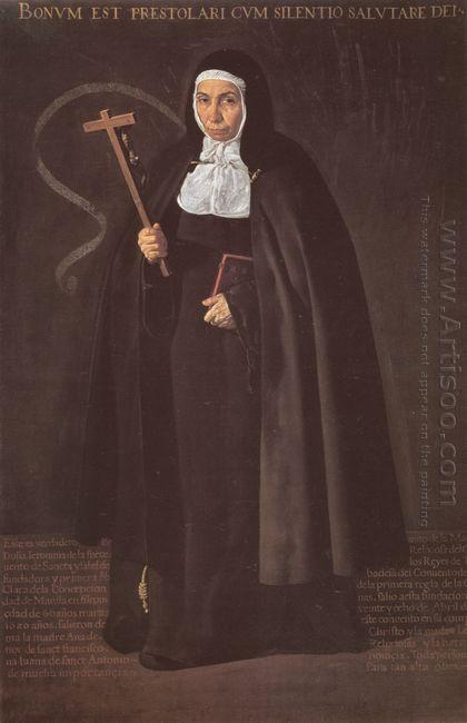 Madre Maria Jeronima De La Fuente 1620