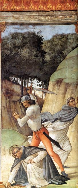 Martyrdom Of St Peter Martyr 1490