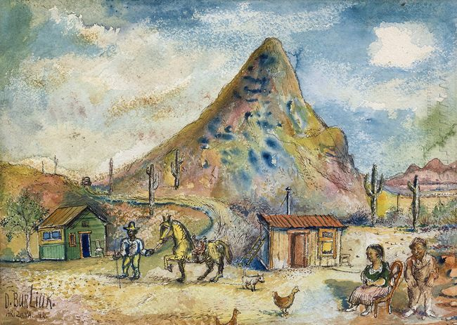 Mountain Landscape 1943