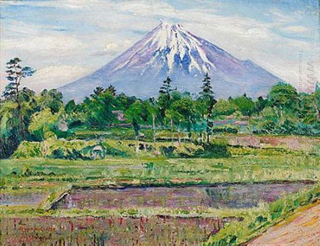 Mount Fuji 1922