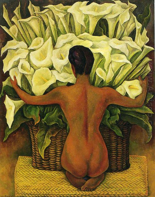 Nude With Calla Lilies 1944