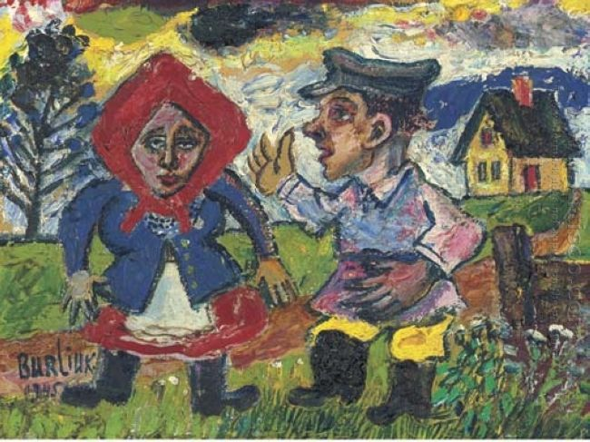 Peasant Couple 1945 1