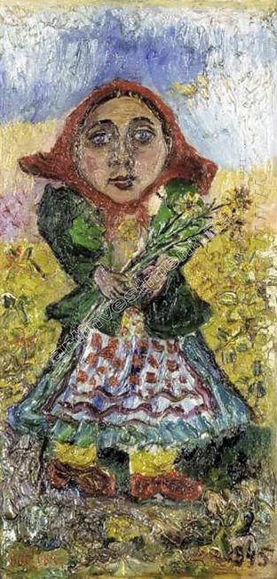 Peasant Girl 1945