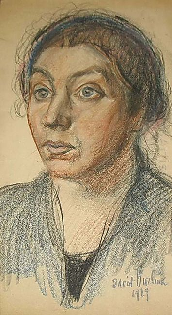 Portrait Of Artist S Wife 1929
