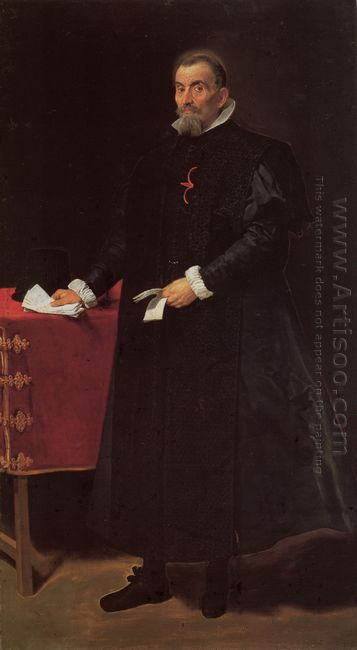 Portrait Of Don Diego De Corral Y Arellano 1632