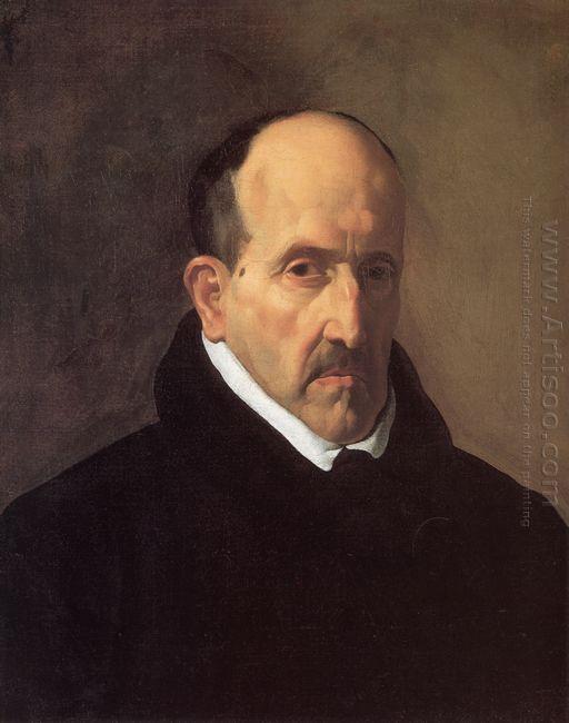 Portrait Of Don Luis De Gongora Y Argote 1622