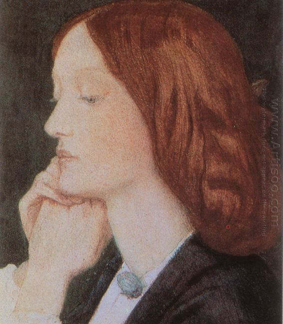 Portrait Of Elizabeth Siddal 1854