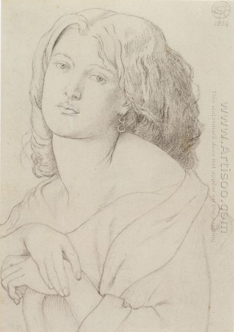 Portrait Of Fanny Cornforth 1869