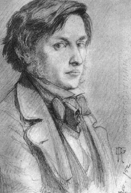 Portrait Of Ford Madox Brown 1852