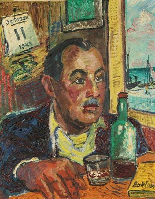 Portrait Of Frank Banker 1948