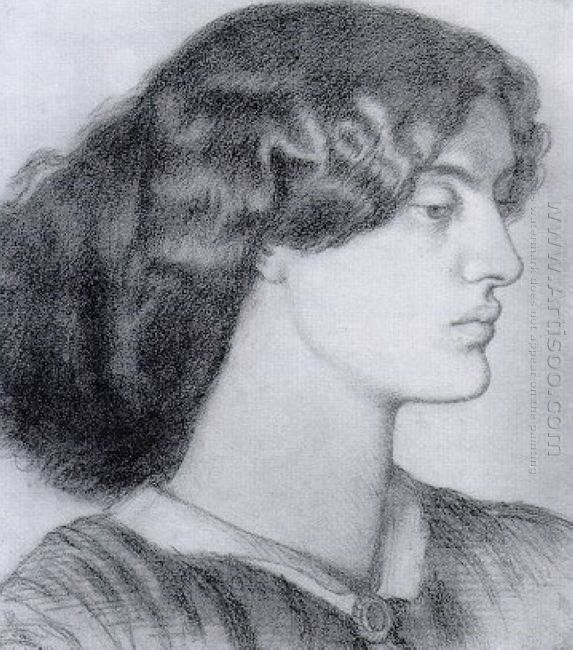 Portrait Of Jane Morris