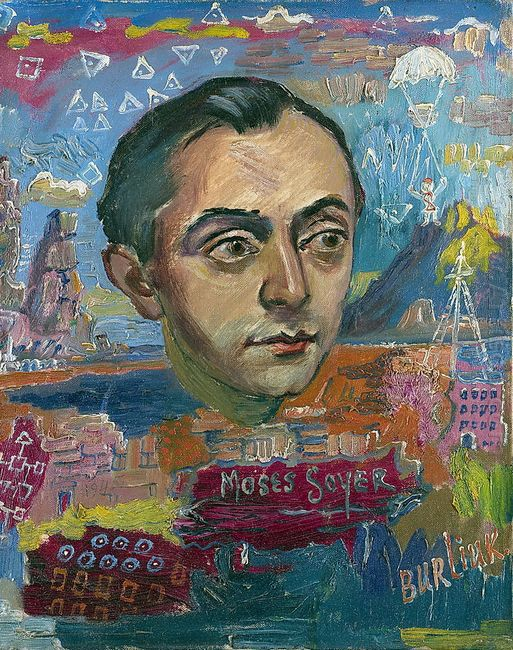 Portrait Of Moses Soyer