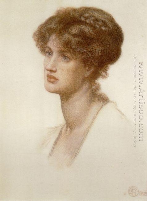 Portrait Of Mrs William J Stillman 1869