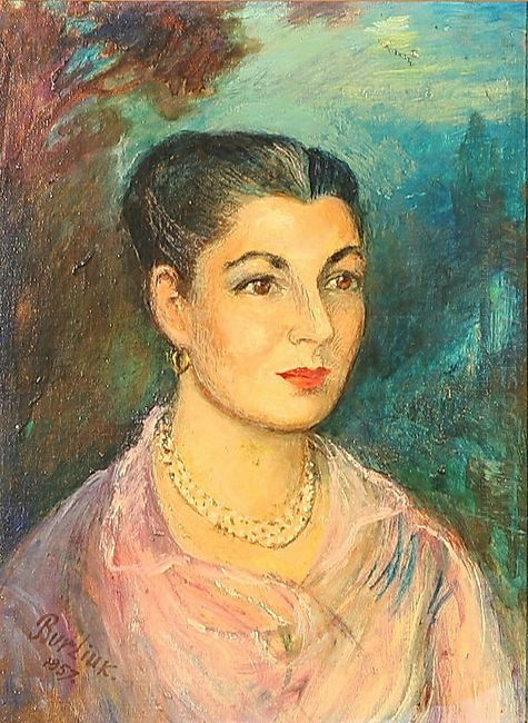 Portrait Of Naomi Harris Saffer 1957