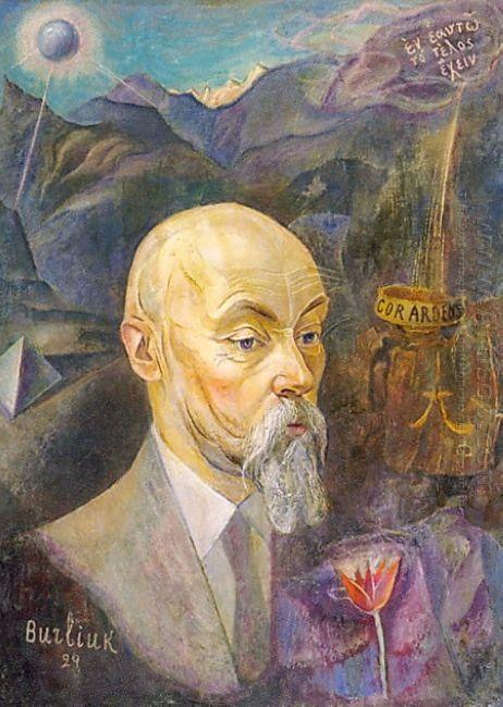 Portrait Of Nicholas Roerich 1929