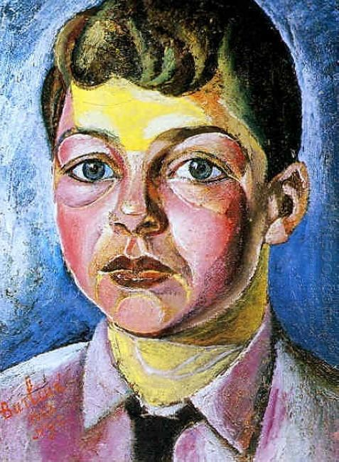 Portrait Of Nicolas The Artist S Son 1927